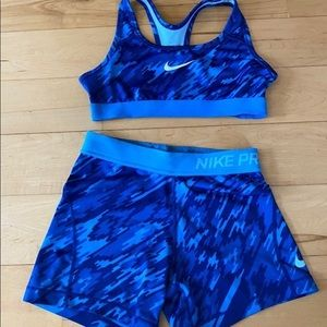 spandex set from nike